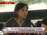Newsbytes - TV Patrol - Leni Robredo faces press after crash