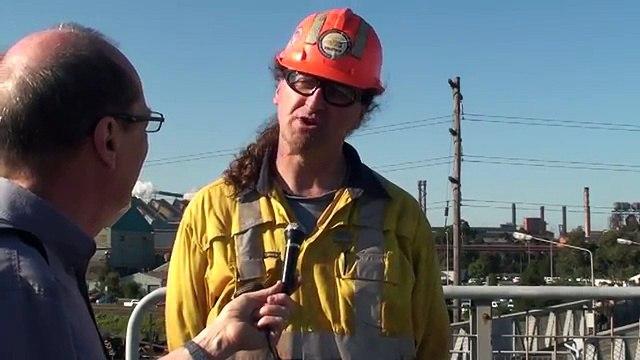 Video: Australian steel workers face deep job cuts