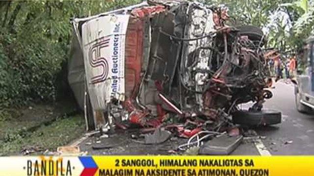 Atimonan crash survivors recall near-death experience