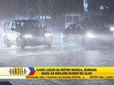 Sudden rain floods parts of Metro Manila