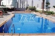 1 bedroom for rent pool and burj khalifa view down town  Dubai - mlsae.com