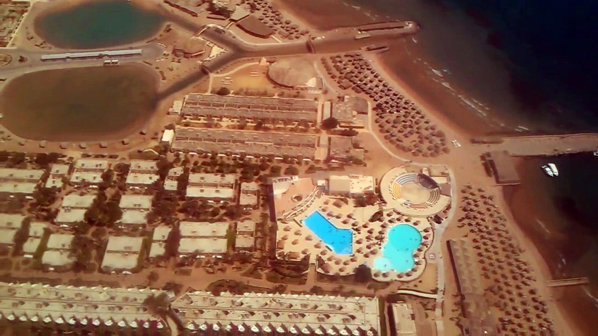 Посадка в Аэропорту Хургада, Египет. Landing in Hurghada. Egypt.
