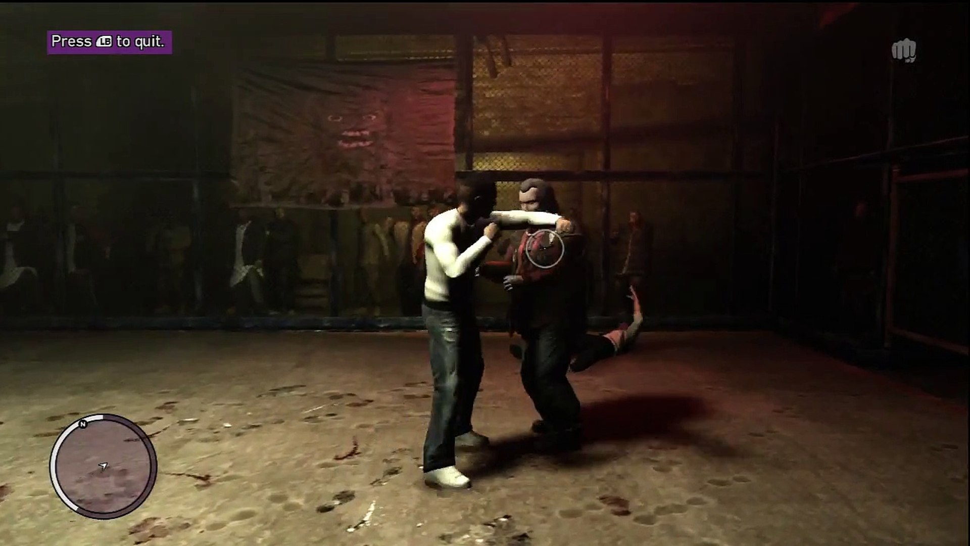 GTA IV: T.B.O.G.T L.C CAGE FIGHTER (A Knife?!?!?)