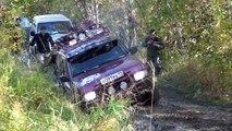 ► НИВА vs УАЗ vs Nissan Terrano vs Mitsubishi Pajero [Off-Road 4x4] #1