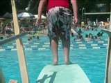Underwater Attacks, Summer Swimming, and Diving Board Tricks