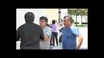 Giugliano (NA) - La protesta degli operatori STIR -live- (28.07.14)