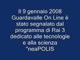 "Guardavalle on Line su ""neaPOLIS"" (Rai  3)"