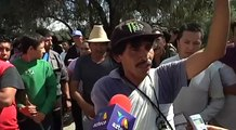 Disturbios en Teoloyucan, Edomex por muerte de 2 atropellados   Noticias del Estado de México