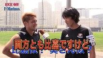 Shunsuke NAKAMURA interviewed Yusuke HIGA 【2015529 tvk・KICK