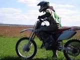 Dirt bike motocross cr 125 kx 125 burn wheelie