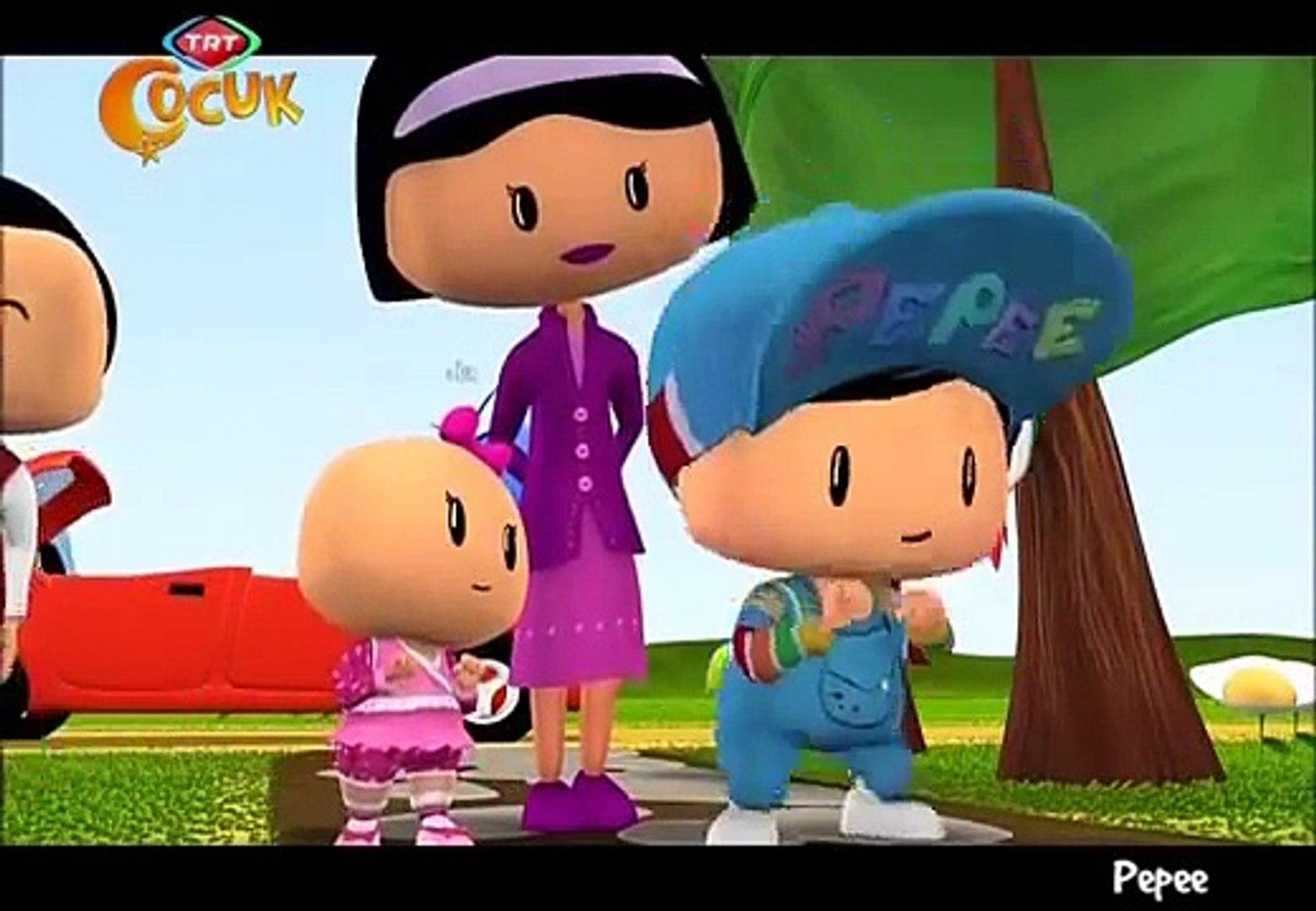 Pepee - Yeni Bölüm - TRT Çocuk - Dedeenin Çiftliği - Çizgi Film - Mart 2013 Çizgi filmi