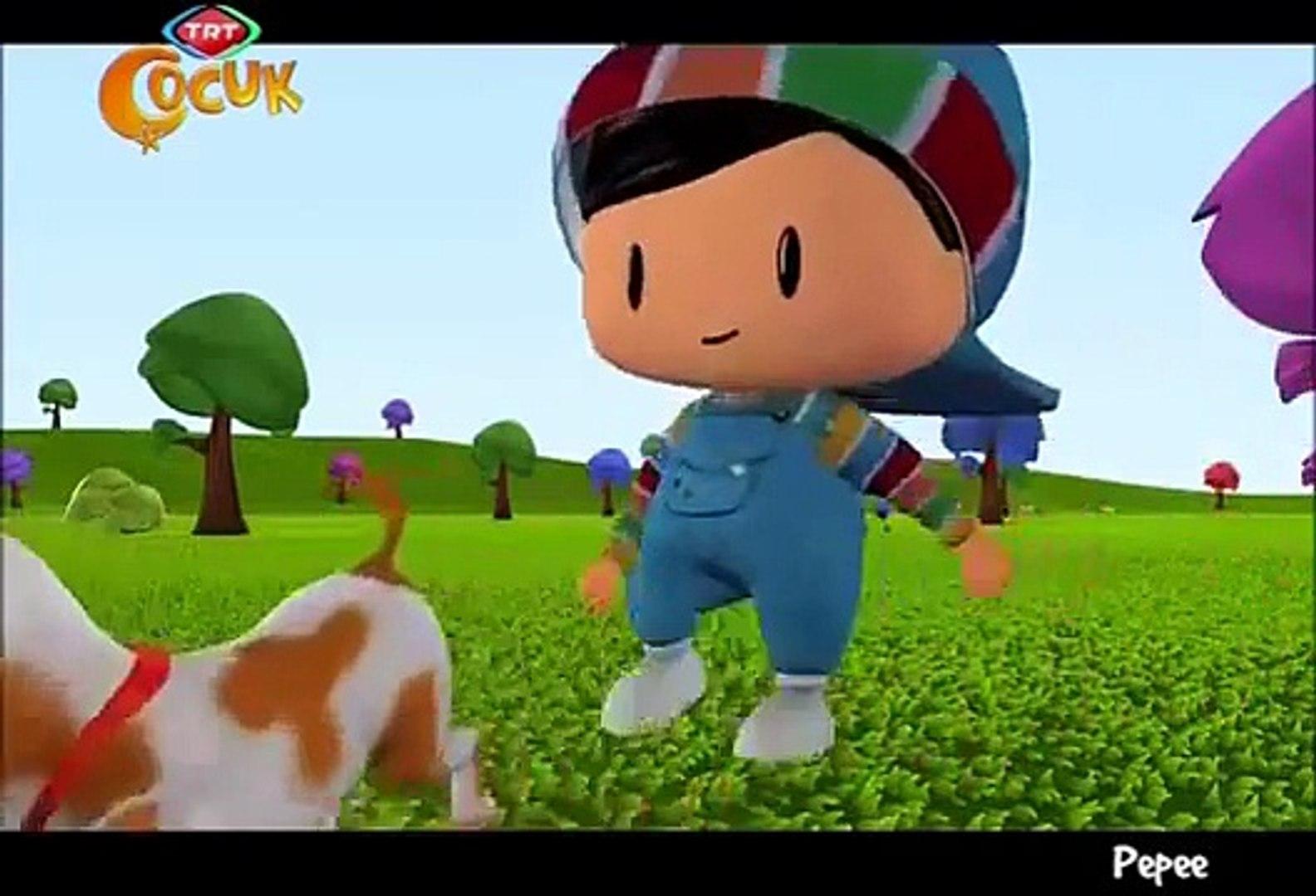 Pepee - Yeni Bölüm - TRT Çocuk - Pepeenin Minik Koyunu - Çizgi Film - Mart 2013 Çizgi Filmi (2)