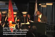 Words Of Bonds Ceremony At Madison Square Garden Opening with the Hebrew Choir