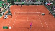 Roland Garros : Nick Kyrgios amazing shot between legs against Andy Murray