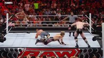 Raw John Cena - Randy Orton vs. Edge - Sheamus - 2015