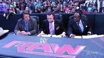 WWE Raw 3/23/15 Sting meets Stephanie McMahon
