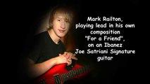 Joe Satriani Signature Guitar (Ibanez JS 1200) played by Mark Railton on an