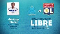 Officiel : Jérémy Morel rejoint l'OL !