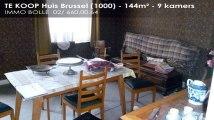 Te koop - Huis - Brussel (1000) - 9 kamers - 144m²