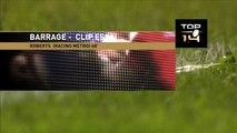 TOP14 - Stade français - Racing Metro 92: Essai jamie Roberts (RAC) - Barrage - Saison 2014/2015