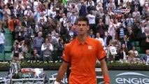 """NOVAK DJOKOVIC says """"hi"""" to ZLATAN IBRAHIMOVIĆ during Roland Garros"""