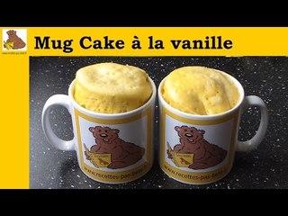 Mug cake à la vanille (recette facile et rapide)