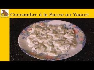 Salade de concombre sauce yaourt (rapide et facile)