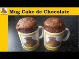 receita do Mug cake de chocolate  (rapida e facil)