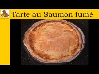 Tarte au saumon fumée (recette rapide et facile)