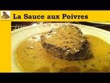 La sauce aux poivres (recette facile et rapide)