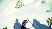 Descente intégrale de la face Nord du Mont Blanc du Tacul