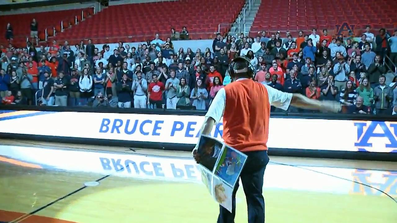 Auburn Basketball Pearl Jam Highlights