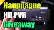 "Hauppauge HD PVR Giveaway ""Hauppauge Game Capture Giveaway"" (Closed)"