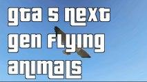 """GTA 5 Next Gen Flying As A Bird Guide""""GTA 5 Next Gen Animals Guide"""""""