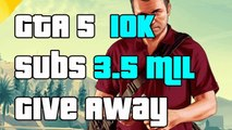 GTA 5 10K Subscribers 3.5 Million Whale Shark Card Giveaway