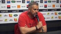 Rugby Top 14 - Christophe Urios réagit après Stade Toulousain - Oyonnax (1ère partie)