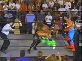 WCW Sting, Luger & Savage vs The 4 Four Horsemen (Nitro July 29th 1996) pt2