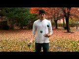 Basic Three Ball Juggling Tricks : Juggling Penguin Catches