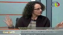 """""""Legalização da maconha é imperativa"""", diz Luciana Genro"""