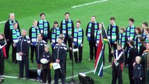 South Africa SpringBoks vs. Fiji, RWC2011, National Anthem, Rugby World Cup, Wellington