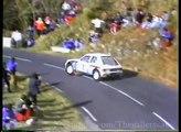 Peugeot 205 TURBO 16 Group B - WRC 205 T16 Rally car Sound