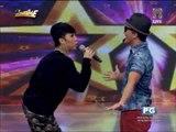 'Bruno Mars' dances to 'Whoops Kiri'