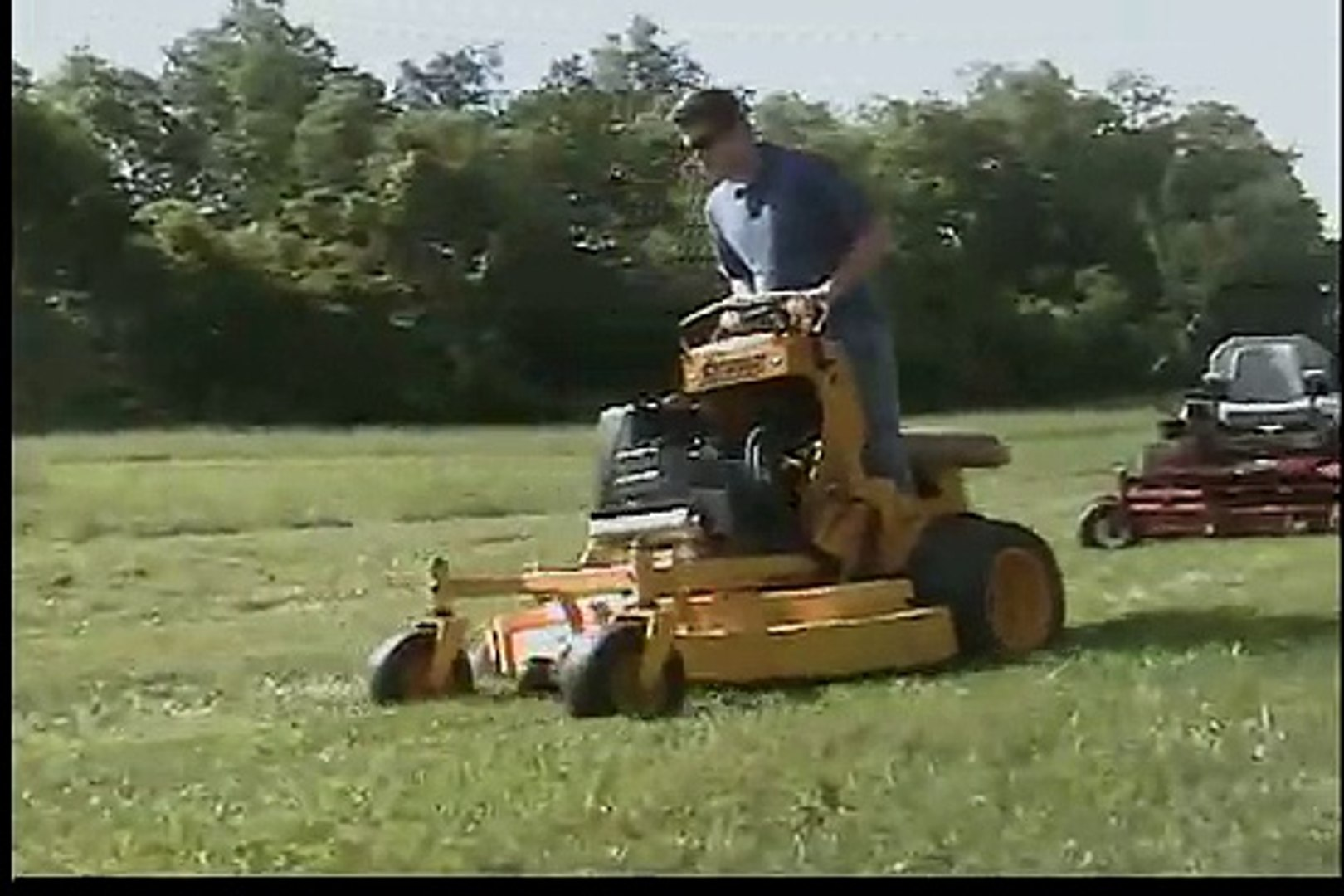 Wright 52 Sentar Commercial lawn mower 77 hours for sale on eBay!:  qualityusedequipment05
