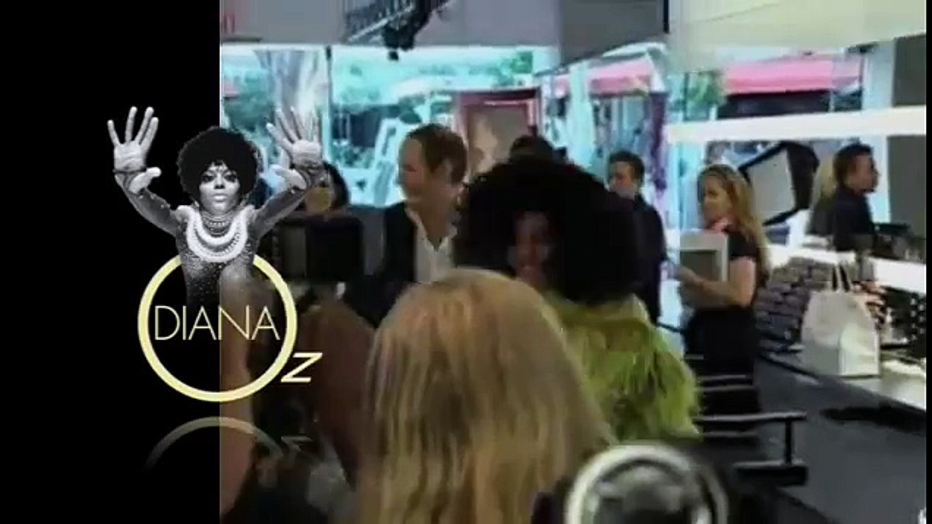 Diana Ross Mac's 2005 Beauty Icon [ Paris 2005 ]