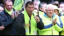 elecciones Ecuador 2013 Rafael Correa ganador de primera vuelta de elecciones en Ecuador 2013