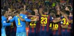 Celebration Copa del Rey Final - Athletic Club 1-3 FC Barcelona  30/05/2015