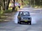 BURNOUTS! Datsun 1600 vs. Holden HQ Monaro GTS