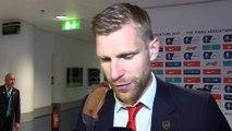 FA Cup: Mertesacker: Der Pokal liegt und wohl