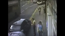 Parking Inspector Suffers Vicious Karate Kick to the Head by Angry Skinhead