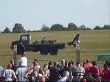 Tableau ALAT avec des hélicoptères  Puma & Gazelle - JPO 1er RHC 12 Septembre 2009 (vidéo 2)